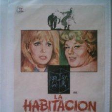Cine: CARTEL ORIGINAL DE CINE AÑOS 60: LA HABITACIÓN MALDITA. TAMAÑO APROX. 14 X 10 CM . Lote 5324868