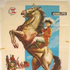 Cine: CARTEL CINE , EL PEQUEÑO CORONEL , JOSELITO , 1960. Lote 16026540