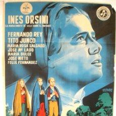 Cine: CARTEL CINE , LA SEÑORA DE FATIMA , 1964, LITOGRAFICO , ILUSTRADO POR NAPOLEON CAMPOS. Lote 19525630