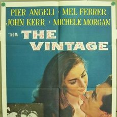 Cine: YW03D THE VINTAGE PIER ANGELI MEL FERRER POSTER ORIGINAL AMERICANO 70X105. Lote 5415285