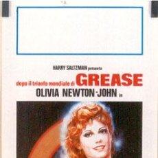 Cine: T03630 TOOMORROW TOOMORROW OLIVIA NEWTON JOHN POSTER ORIGINAL 33X70 ITALIANO. Lote 5457811