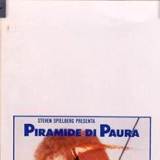 Cine: T03743 EL SECRETO DE LA PIRAMIDE SHERLOCK HOLMES STEVEN SPIELBERG POSTER ORIGINAL ITALIANO 33X70. Lote 5507234