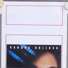 Cine: T03680 LA RED SANDRA BULLOCK POSTER ORIGINAL ITALIANO 33X70. Lote 5511662