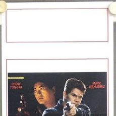 Cine: T03684 THE CORRUPTOR CHOW YUN FAT MARK WAHLBERG POSTER ORIGINAL ITALIANO 33X70. Lote 5511694