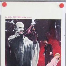 Cine: T03822 PLAGUE OF THE ZOMBIES HAMMER JOHN GILLING POSTER ORIGINAL ITALIANO 33X70. Lote 10843545