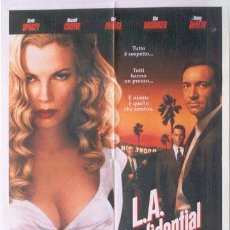 Cine: T03895 L.A. CONFIDENCIAL RUSSELL CROWE KIM BASINGER POSTER ORIGINAL ITALIANO 100X140. Lote 5527173
