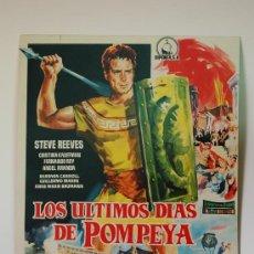 Cine: LOS ULTIMOS DIAS DE POMPEYA CARTEL DE JANO. Lote 5579919