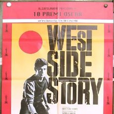 Cine: T03933 WEST SIDE STORY NATALIE WOOD POSTER ORIGINAL ITALIANO 100X140. Lote 5855683