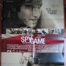 Cine: SPY GAME, JUEGO DE ESPIAS. 70X100. ROBERT REDFORD, BRAD PITT. DIR TONY SCOTT. Lote 43698180