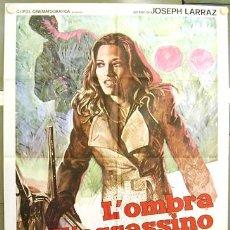Cine: XP53D VIOLACION Y JOSE LARRAZ POSTER ORIGINAL ITALIANO 100X140. Lote 253701400