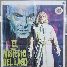 Cine: T04016 EL MISTERIO DEL LAGO NILS ASHTER ANITA BJORK POSTER ORIGINAL ESTRENO 70X100. Lote 5937926