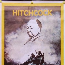 Cine: T04100 NAUFRAGOS ALFRED HITCHCOCK POSTER ORIGINAL 70X100. Lote 6016816