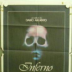 Cine: T04140 INFERNO DARIO ARGENTO POSTER ORIGINAL 70X100 ESTRENO. Lote 6042035