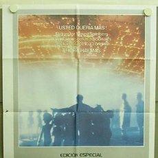 Cine: T04276 ENCUENTROS EN LA TERCERA FASE STEVEN SPIELBERG EDICION ESPECIAL POSTER ORIGINA ESPAÑOL 70X100. Lote 6059769