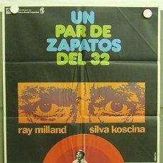 Cine: T04272 UN PAR DE ZAPATOS DEL 32 RAY MILLAND SYLVA KOSCINA POSTER ORIGINAL ESPAÑOL 70X100. Lote 6059960