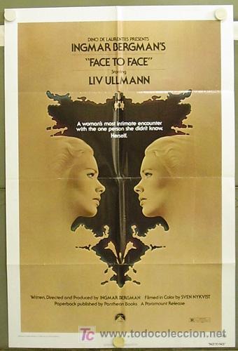 T04319 CARA A CARA INGMAR BERGMAN POSTER ORIGINAL USA 70X105 (Cine- Posters y Carteles - Drama)