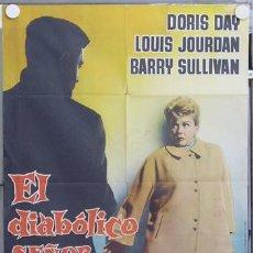 Cine: ZN24 EL DIABOLICO SEÑOR BENTON DORIS DAY POSTER ORIGINAL 70X100 DEL ESTRENO. Lote 12963865