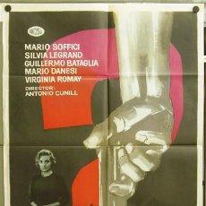 Cine: T04462 LOS ACUSADOS ANTONIO CURIEL MAC POSTER ORIGINAL 70X100 ESTRENO. Lote 6114158