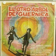 Cine: T04495 EL OTRO ARBOL DE GUERNICA PEDRO LAZAGA INMA DE SANTIS POSTER ORIGINAL 70X100 ESTRENO. Lote 6114362