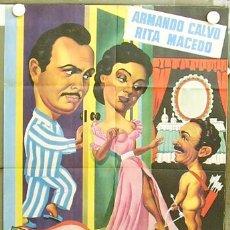 Cine: T04474 MI MARIDO ARMANDO CALVO RITA MACEDO POSTER ORIGINAL 70X100 ESTRENO. Lote 6114373