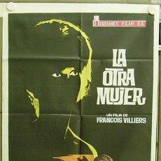 Cine: T04484 LA OTRA MUJER ANNIE GIRARDOT FRANCISCO RABAL POSTER ORIGINAL 70X100 ESTRENO. Lote 6114382