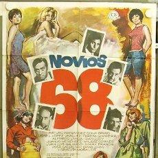 Cine: T04491 NOVIOS 68 SONIA BRUNO TERESA GIMPERA MAC POSTER ORIGINAL 70X100 ESTRENO. Lote 6114389