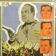 Cine: T04614 LA JUSTICIA AL ACECHO BRODERICK CRAWFORD LON CHANEY MCP POSTER ORIG 70X100 ESTRENO LITOGRAFIA. Lote 9304907