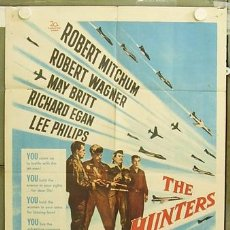 Cine: T04625 ENTRE DOS PASIONES ROBERT MITCHUM ROBERT WAGNER MAY BRITT POSTER ORIGINAL USA 70X105. Lote 6130723
