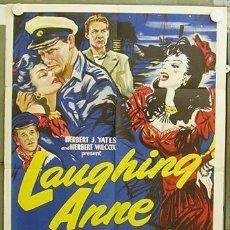 Cine: ZC74D LAUGHING ANNE MARGARET LOCKWOOD POSTER ORIGINAL USA 70X105. Lote 6137639