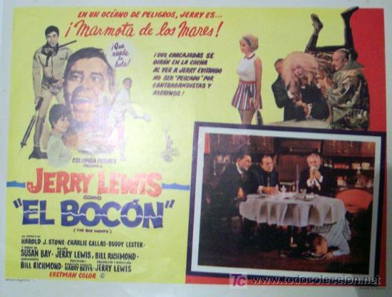 Jerry Lewis El Bocon La Otra Cara Del Gangs Kaufen Poster Und