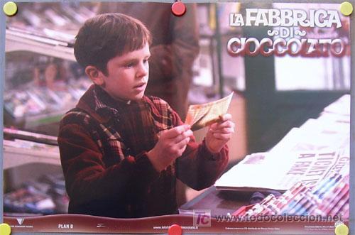 Cine: QB51 CHARLIE Y LA FABRICA DE CHOCOLATE TIM BURTON JOHNNY DEPP SET DE 6 POSTER ITALIANOS 47X68 - Foto 5 - 22753040