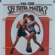 Cine: T04763 COMBATE DE FONDO BARBRA STREISAND BOXEO POSTER ORIGINAL ITALIANO 100X140. Lote 6225835