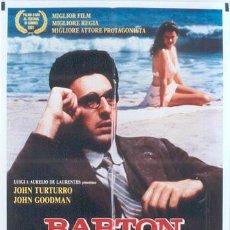 Cine: T04786 BARTON FINK JOEL & ETHAN COEN POSTER ORIGINAL ITALIANO 100X140. Lote 6235292