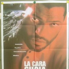 Cine: T04898 LA CARA SUCIA DE LA LEY LARRY FISHBURNE POSTER ORIGINAL 70X100 DE ESTRENO. Lote 6256581
