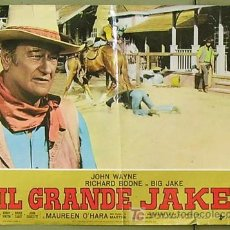 Cine: T04960 EL GRAN JACK JOHN WAYNE POSTER ORIGINAL ITALIANO 47X68. Lote 6264563