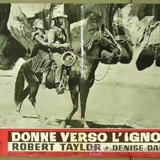 Cine: YP33D CARAVANA DE MUJERES ROBERT TAYLOR WILLIAM A. WELLMAN POSTER ITALIANO 47X68. Lote 6267706