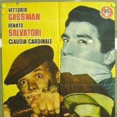 Cine: T05047 RUFUFU DA EL GOLPE VITTORIO GASSMAN POSTER ORIGINAL 70X100 ESTRENO. Lote 16819521