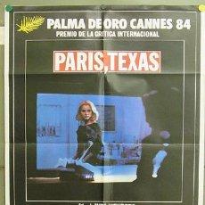 Cine: T05159 PARIS TEXAS WIM WENDERS NASTASSJA KINSKI POSTER ORIGINAL 70X100 ESTRENO. Lote 6347715