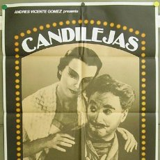 Cine: T05163 CANDILEJAS CHARLES CHAPLIN LIMELIGHT POSTER ORIGINAL 70X100 D. Lote 6347763