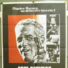 Cine: T05223 CON EL AGUA AL CUELLO PAUL NEWMAN JOANNE WOODWARD MACDONALD POSTER ORIGINAL 70X100 ESTRENO. Lote 6378766
