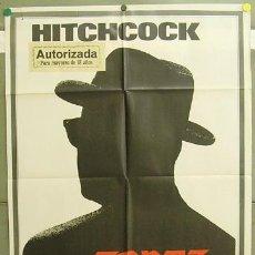 Cine: T05208 TOPAZ ALFRED HITCHCOCK POSTER ORIGINAL 70X100 ESTRENO. Lote 6379403