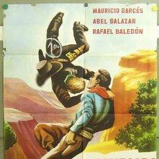 Cine: ZS24D EL RENEGADO BLANCO ABEL SALAZAR MAURICIO GARCES POSTER ORIGINAL 70X100 ESTRENO. Lote 6428309