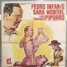Cine: T05295 VUELVE MARTIN CORONA SARA MONTIEL PEDRO INFANTE POSTER ORIGINAL MEJICANO 70X94. Lote 6428997