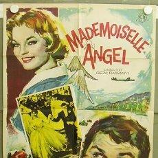Cine: T05351 MADEMOISELLE ANGEL ROMY SCHNEIDER AUTOMOVILISMO POSTER ORIGINAL 70X100 ESTRENO. Lote 19351943