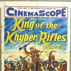 Cine: XF82D EL CAPITAN KING TYRONE POWER POSTER ORIGINAL USA 70X105. Lote 7802014
