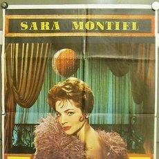 Cine: T05493 LA REINA DEL CHANTECLER SARA MONTIEL RAFAEL GIL POSTER ORIGINAL 70X100. Lote 6514465