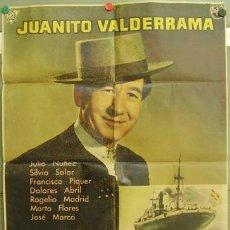 Cine: T05501 EL EMIGRANTE JUANITO VALDERRAMA POSTER DE MAC ORIGINAL ESTRENO 70X100. Lote 12637818