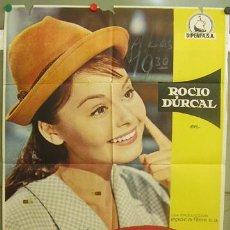Cine: T05520 ROCIO DE LA MANCHA ROCIO DURCAL LUIS LUCIA POSTER ORIGINAL ESTRENO 70X100. Lote 6516935