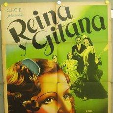 Cine: T05560 ANA MARIA REINA Y GITANA MARUJA TOMAS FLORIAN REY POSTER ORIGINAL ARGENTINO 75X110 LITOGRAFIA. Lote 16489918