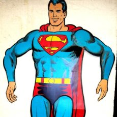 Cine: CARTEL SUPERMAN , CARTON CON MOVIMIENTO, TROQUELADO , 50 X 165 CMS. ROMAGOSA COMICS INTER 1979. Lote 110405684